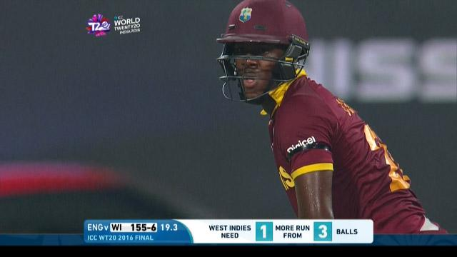 Carlos Brathwaite Match Hero for West Indies v England ICC WT20 2016