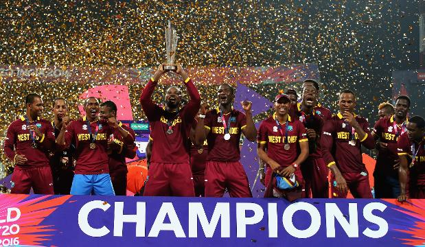 Sensational Samuels, Brathwaite hand West Indies second title - Cricket News