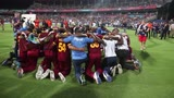 West Indies give thanks after amazing victory