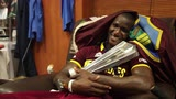 Darren Sammy guards 'his baby'
