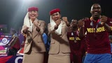 West Indies and Emirates Cabin Crew Champion Dance at WT20 Final - T20 Videos