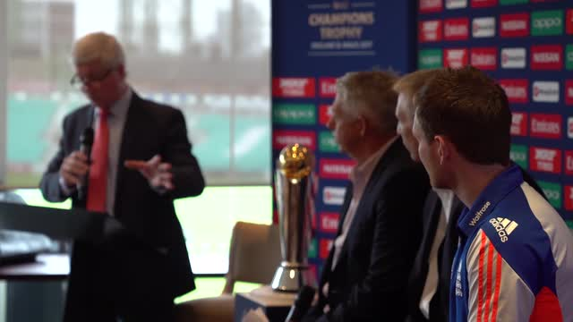 ICC Champions Trophy 2017 Launch