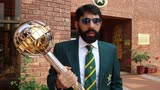 Misbah interview with ICC Test Championship Mace