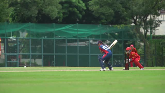 China v Nepal ICC Women's World Cup Qualifier, Asia