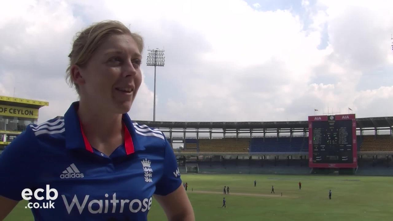 Knight says qualifying for World Cup was a very proud moment for her side
