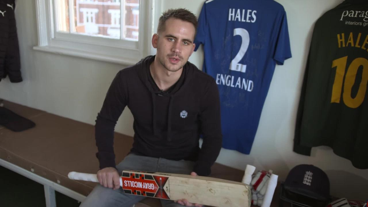 Alex Hales ICC Cricket 360 feature