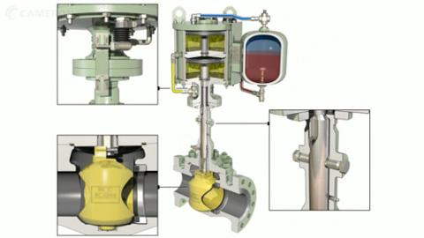 ORBIT Rising Stem Ball Valves Actuation Instrumentation