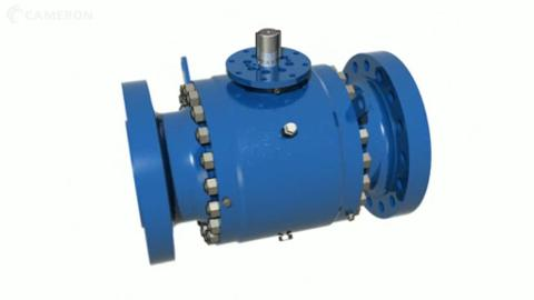 TK Trunnion-mounted Ball Valve: Operation