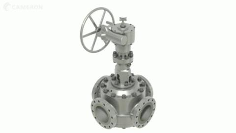 GENERAL VALVE Four-way Diverter Valve