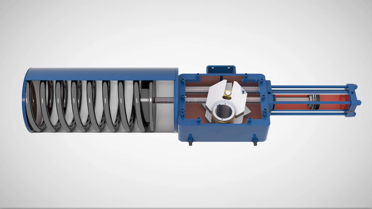 LEDEEN Actuators: GS Series Hydraulic