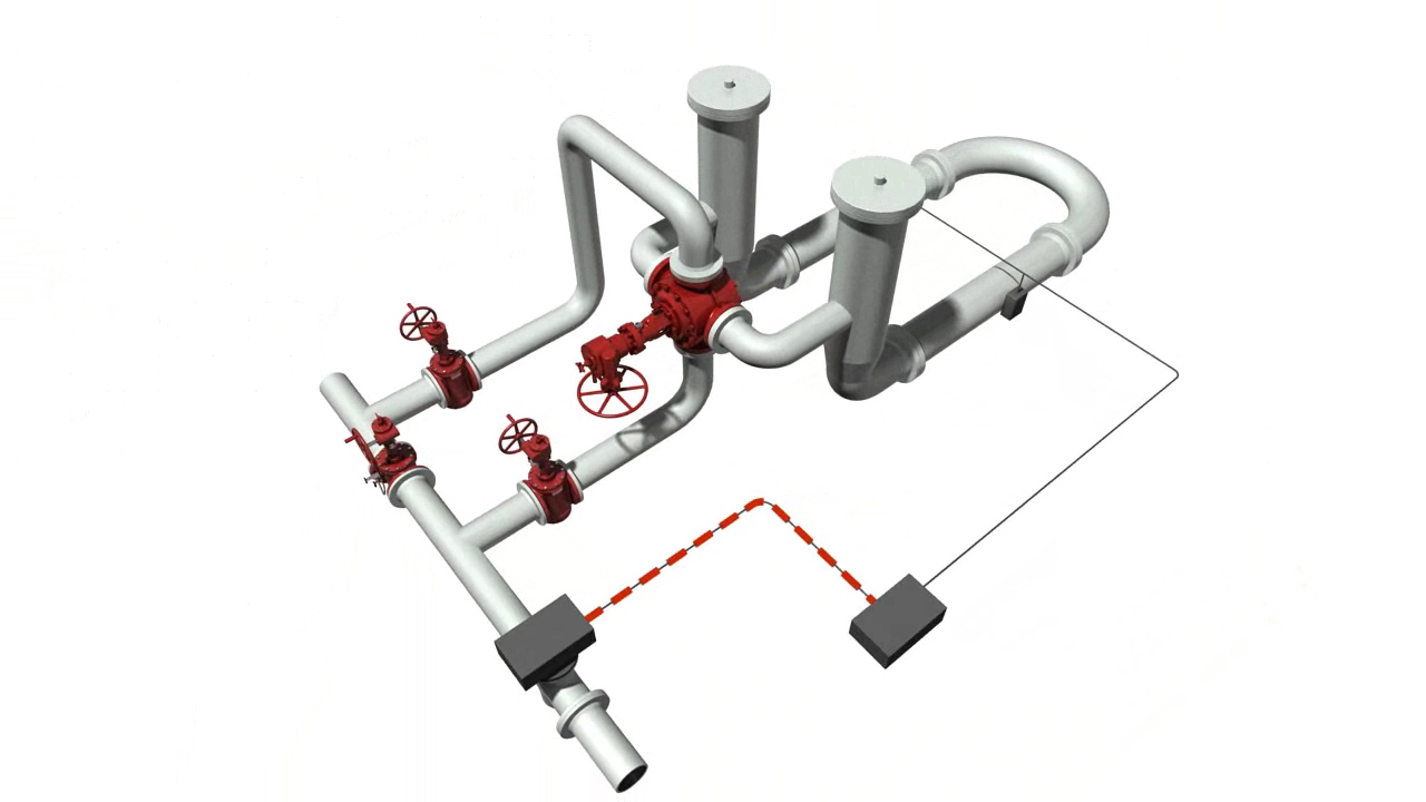 GENERAL Four-Way Diverter Valve