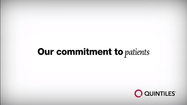 Our commitment to patients