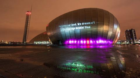 Video: Scotland Now - St Andrew's Day light projections