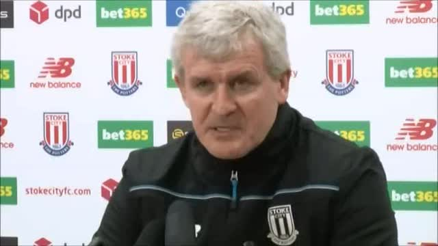Mark Hughes pre-match Liverpool FC v Stoke press conference
