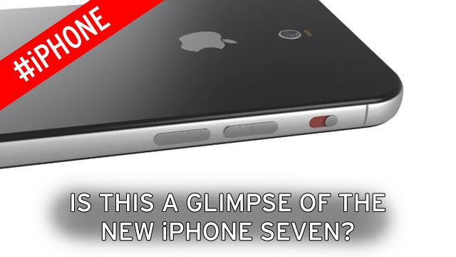 Is this a tantalizing glimpse of the new iPhone 7?