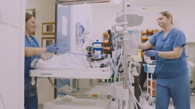 Tiny Lives video of The Special Care Baby Unit at the RVI in Newcastle upon Tyne