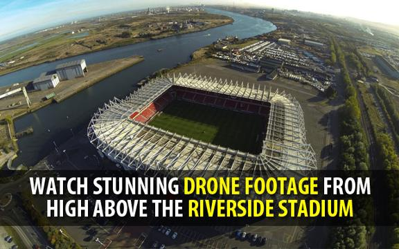 Video: iSky aerial drone video of the Riverside stadium