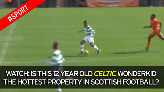 13 year old Karamoko Dembele makes Celtic u20s Debut