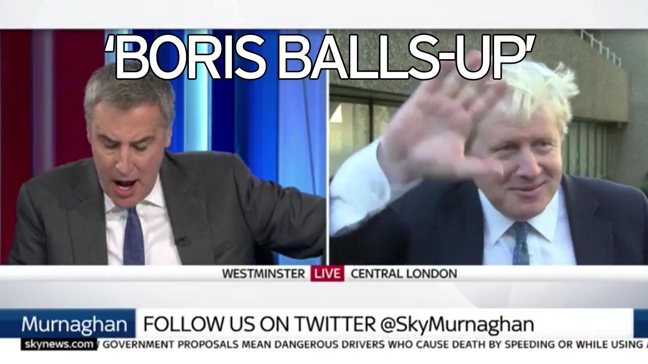 boris johnson flees tv interview as he fails to a key world video thumbnail stumbling boris johnson flees tv interview as he fails to a key