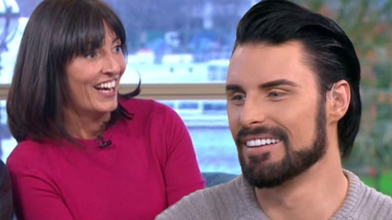 Christmas door decorating davina mccall interview 2015 celebrity interviews - Davina Mccall Will Present Celebrity Big Brother S Bit On The Side If Rylan Clark Neal Goes Back Into House Mirror Online
