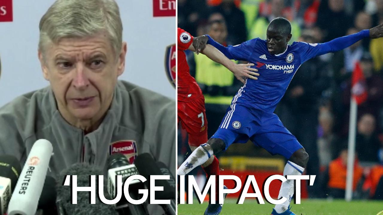 Arsene Wenger admits he wanted N Golo Kante last summer and
