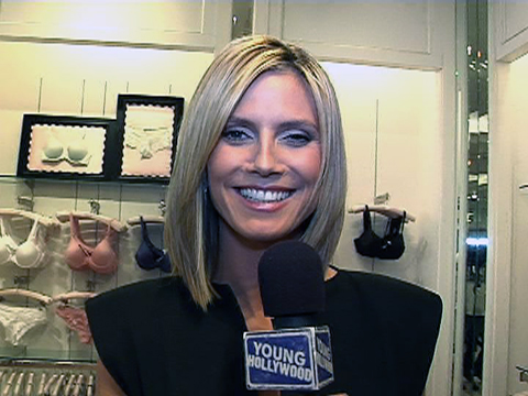 Heidi Klum Reveals Her New Tattoo