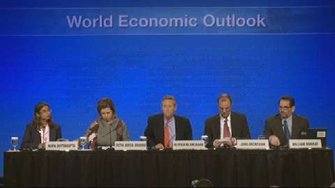 Press Briefing: World Economic Outlook (WEO)
