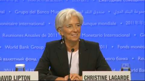 2011 Annual Meetings Opening Press Briefing by IMF Managing Director Christine Lagarde