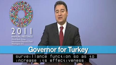 Statement by the Governor for Turkey