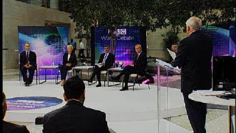 BBC World Debate -- Global Economy:  A Tipping Point?