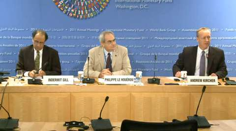 Press Briefing: Europe and Central Asia Economic Update