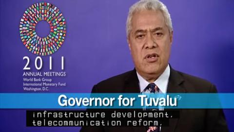 Statement by the Governor for Tuvalu