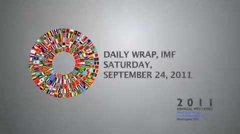 Daily Wrap, IMF-World Bank Annual Meetings