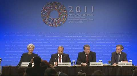 Press Briefing: Development Committee Chair, World Bank President, and IMF Managing Director