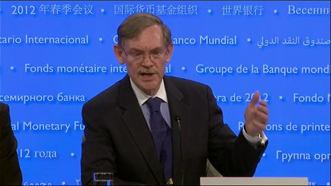 2012 Spring Meeting Press Briefing by World Bank President Robert Zoellick