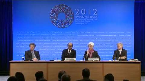 Press Briefing: IMFC Chair and IMF Managing Director