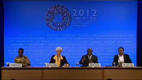 Press Briefing  by IMF Managing Director and the African Consultative Group (ACG)
