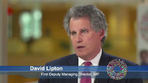 David Lipton Speaks About the Spring Meetings