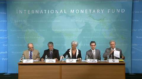 United States: Press Conference on the Concluding Statement of the 2012 Article IV Consultation