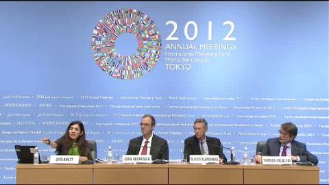 Press Conference - World Economic Outlook (WEO) Main Chapters, October 2012