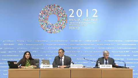 Press Conference: Fiscal Monitor, October 2012