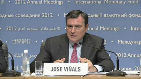 Press Conference - Global Financial Stability Report (GFSR) Main Chapters, Oct 2012