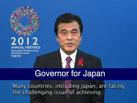 Statement by the Governor for Japan