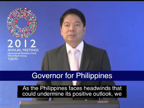 Statement by the Governor for Philippines