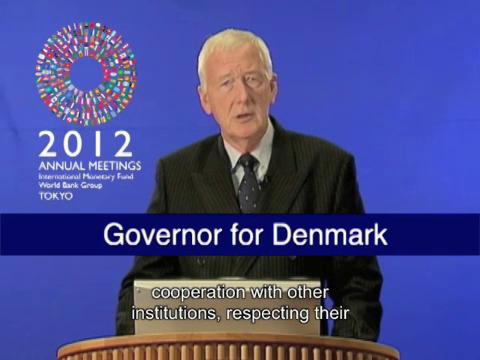 Statement by the Governor for Denmark