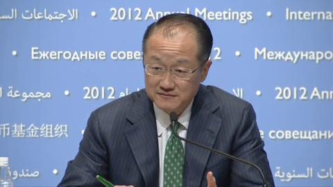 Spanish: Press Conference - World Bank President Jim Yong Kim
