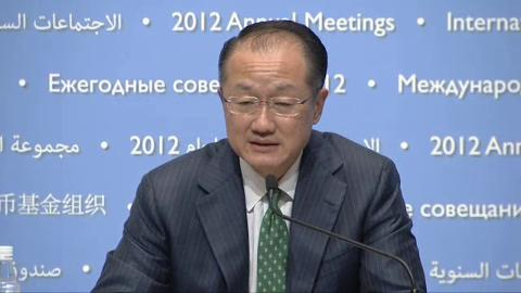Press Conference - World Bank President Jim Yong Kim