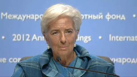 Press Conference - IMF Managing Director Christine Lagarde