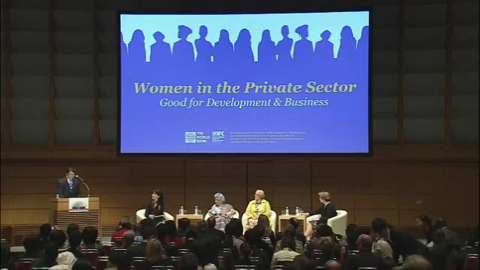 Program of Seminars: Women in the Private Sector: Good for Development and Business