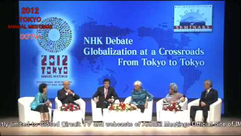 Program of Seminars: NHK Debate--Globalization at a Crossroads: From Tokyo to Tokyo